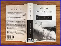 All the Pretty Horses, Cormac McCarthy. SIGNED First Edition, 1st Printing