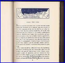 Alone (1938) Admiral Richard E. Byrd Signed, 1st Edition In Original Wrapper