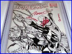 Amazing Spider-Man #1 CGC SS Signature Autograph STAN LEE RAMOS 1st D Variant
