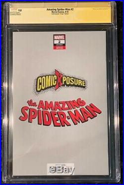 Amazing Spider-man #2 2018 Cgc Ss 9.8 Virgin Variant Signed Parrillo 1st Kindred