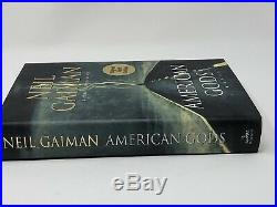 American Gods Neil Gaiman 2001 Hardcover 1st edition 1st printing SIGNED limited