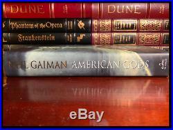 American Gods SIGNED by NEIL GAIMAN N/M Hardback 1st Edition First Printing