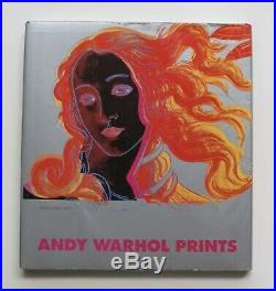 Andy Warhol Signed Prints Book 1985 First Edition