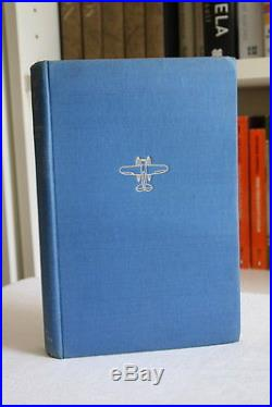 Anne Morrow & Charles Lindbergh,'Listen! The Wind', SIGNED UK first edition