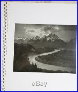 Ansel Adams, MY CAMERA IN THE NATIONAL PARKS 1950 1st EDITION NEAR MINT SIGNED