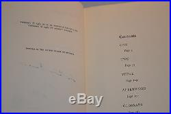 Anthony Burgess SIGNED & Inscribed A Clockwork Orange First BC Edition