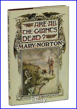 Are All the Giants Dead MARY NORTON SIGNED First Edition 1975 1st Brian Froud