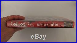 Aretha From These Roots Aretha Franklin Signed First edition HC DJ Autographed
