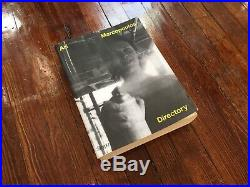 Ari Marcopoulos Directory Rizzoli Nieves 2011 With Signed Print First Edition