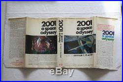 Arthur C Clarke (1968)'2001 A Space Odyssey', US signed first edition 1/1