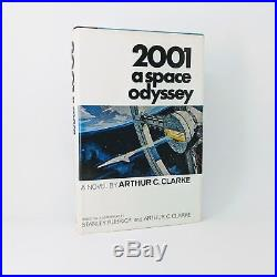 Arthur C. Clarke 2001 A Space Odyssey First Edition Signed 1968