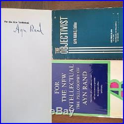 Ayn Rand For The New Intellectual Signed First Edition