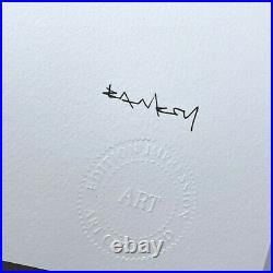 BANKSY Game Changer Art Print FIRST EDITION! Edition 144/150 with COA. Kaws fairey
