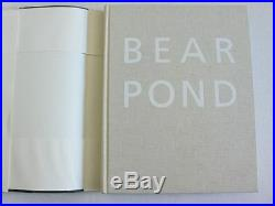 BEAR POND by Bruce Weber, signed 1st Edition 1990