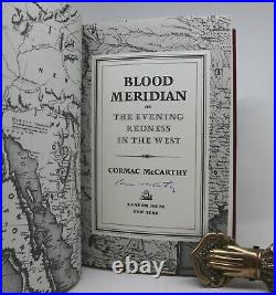 BLOOD MERIDIAN Cormac McCarthy 1st Edition 1985 Signed by Author