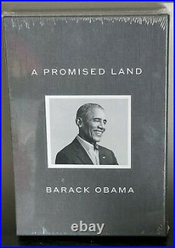 Barack Obama Signed A PROMISE LAND Deluxe 1st Edition Autographed New In-Hand