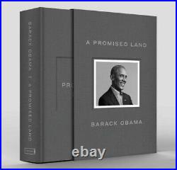 Barack Obama Signed A Promise Land Deluxe 1st Edition Autographed Free Ship