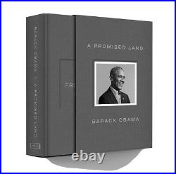 Barack Obama Signed A Promise Land Deluxe 1st Edition Autographed New