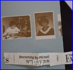 Becoming By Michelle Obama Signed Autographe0d Book 1st Edition Nyc 11/30 In Han