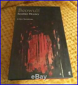 Beowulf by Seamus Heaney Signed First Edition