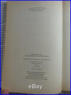 Bernard Cornwell Sharpe's Revenge First edition Signed Unique copy