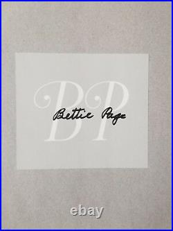 Bettie Page Signed The Life Of A Pin Up Legend Hardcover (1996) 1st Edition