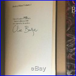 Books of Blood Vols 1-6 by Clive Barker (Signed, Limited, First UK Edition)