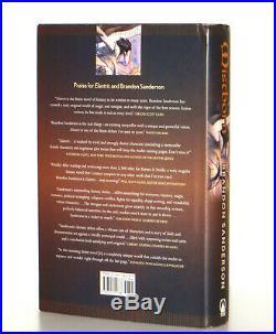 Brandon Sanderson SIGNED Mistborn The Final Empire Book 1, 1st Edition 1st Print