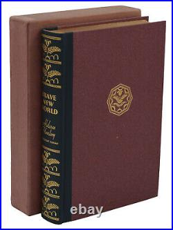 Brave New World ALDOUS HUXLEY Signed Limited First US Edition 1932 1st FINE