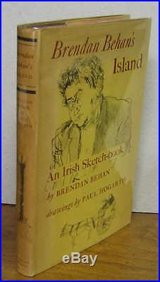 Brendan Behan's Island. First edition. Jacket. Signed by both
