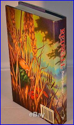 Brian Jacques SIGNED & Inscribed Redwall First Edition