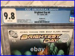Brightest Day 4 Ivan Reis 125 Incentive Variant CGC 9.8 1st App New Aqualad