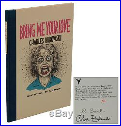 Bring Me Your Love CHARLES BUKOWSKI & ROBERT CRUMB SIGNED First Edition 1983