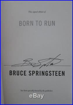 Bruce Springsteen - Born to Run - Signed First edition
