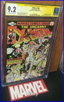 CGC 9.2 ss Signed Chris Claremont X-Men 130 Newsstand Edition 1st App of Dazzler