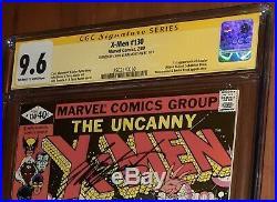 CGC 9.6 ss Signed Chris Claremont X-Men 130 Newsstand Edition 1st App of Dazzler