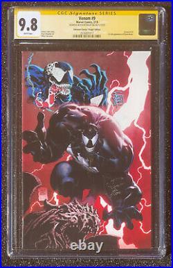 CGC 9.8 SS Philip Tan Spider-Man Venom sketch # 9 Virgin Variant 1st Dylan CATES