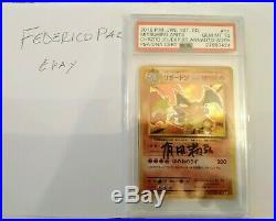 CHARIZARD BASE SET FIRST EDITION Th20 ANN PSA10 SIGNED (NO SHINING)