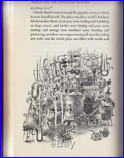 CHARLIE and The CHOCOLATE FACTORY (1964) ROALD DAHL, SIGNED, TRUE 1ST EDITION