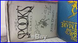 Collection Of 11 Signed Spooks Books By Joseph Delaney 10 First Edition, 1-2nd Ed