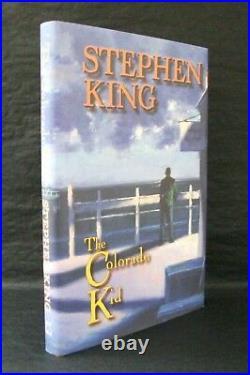 COLORADO KID HAVEN Stephen King ARTIST SIGNED LTD 1st ED HB/DJ Edward Miller