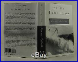 CORMAC MCCARTHY All the Pretty Horses SIGNED FIRST EDITION