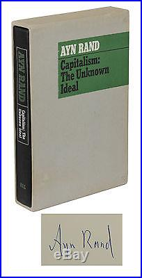 Capitalism the Unknown Ideal AYN RAND Signed Limited First Edition 1/700 1966