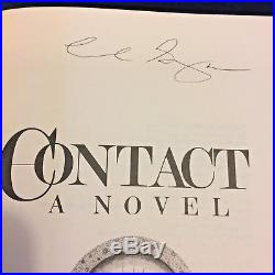 Carl Sagan Signed Contact 1985 True First Edition In Perfect Condition