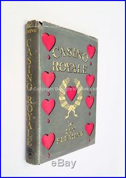 Casino Royale Signed by Ian Fleming First Edition First Impression Jonathan
