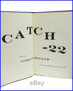 Catch 22 Signed First Edition Joseph Heller 1st Printing Rare Book 1961