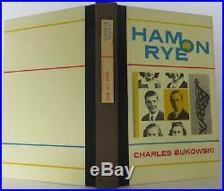 Charles Bukowski / Ham on Rye Signed 1st Edition 1982 #1901103