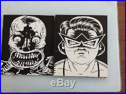Charles Burns & Gary Panter, Facetasm, 1St, Signed, Limited First Edition 1/300