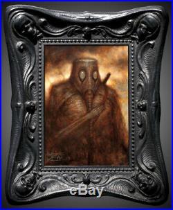 Chet Zar Allegiance 2013 Oddfellows original painting first edition frame TOOL