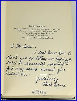 Chick Evans' Golf Book SIGNED by CHICK EVANS First Edition 1st Printing 1921